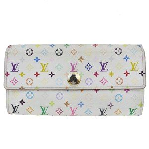 Louis Vuitton Monogram Multicolore Portofeuille Sa